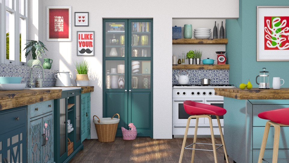 eclectic kitchen - Kitchen - by LB1981