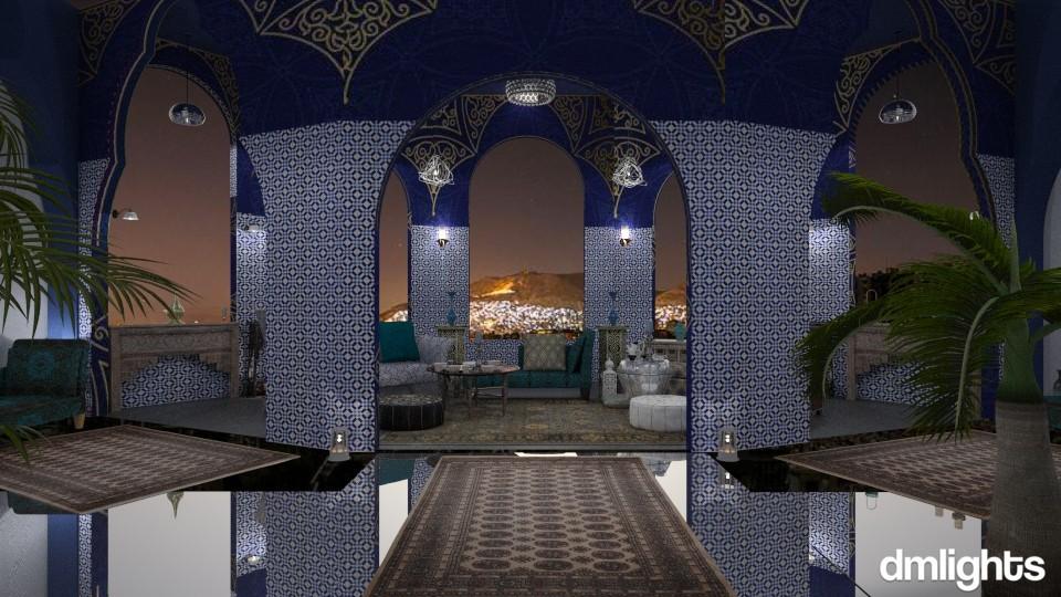 Damascus Night - Living room - by DMLights-user-1468788