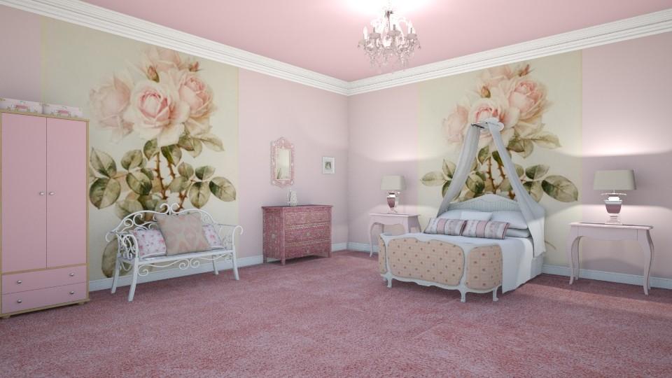 Roses - Bedroom - by KarmaKitten