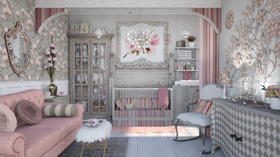glam baby - Glamour - Kids room - by starsector