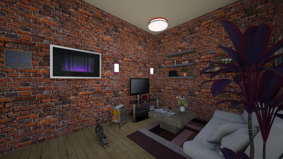 Living Room - by Asura Kunvara