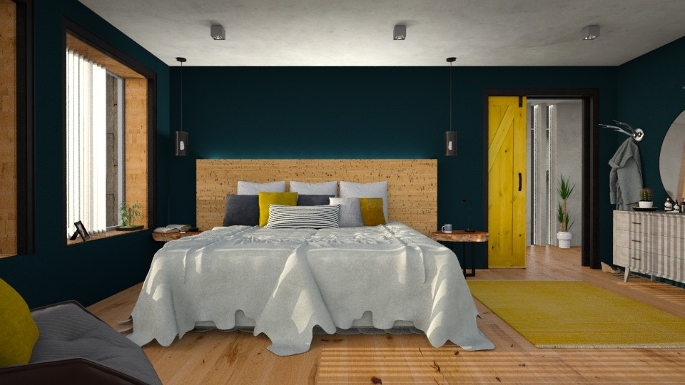 Mellow - Eclectic - Bedroom - by evahassing
