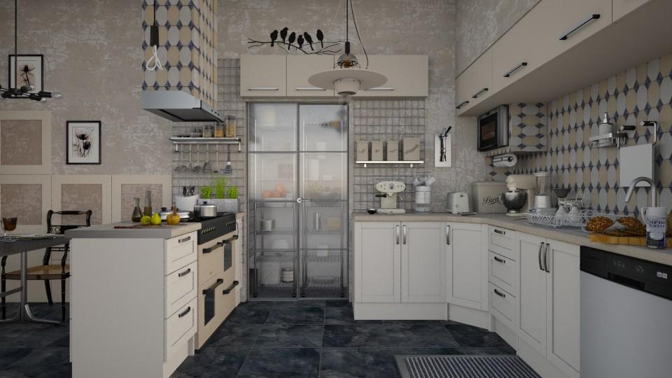 Latte - Modern - Kitchen - by starsector