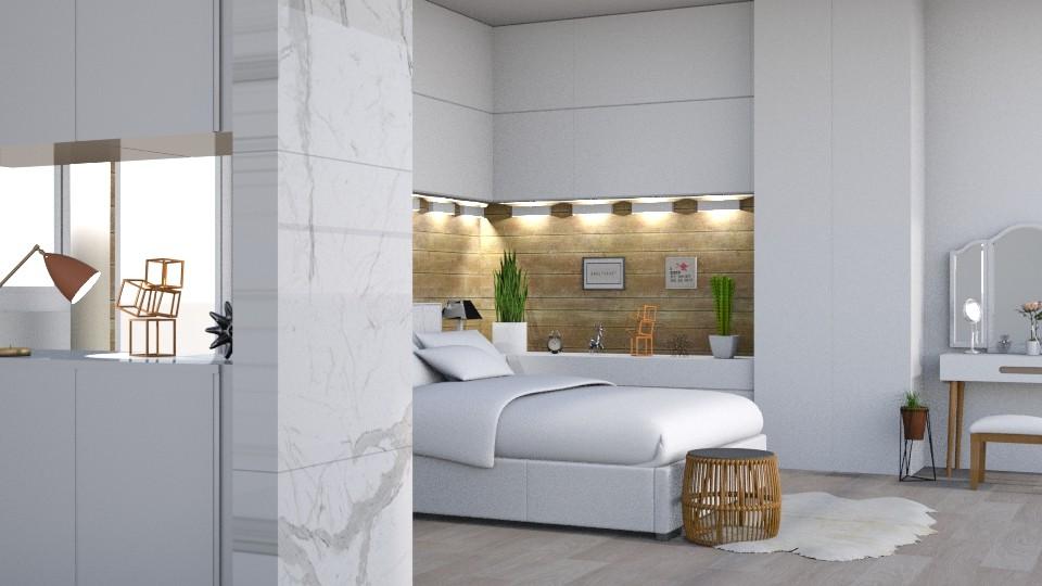 dream - Modern - Bedroom - by tervezoke