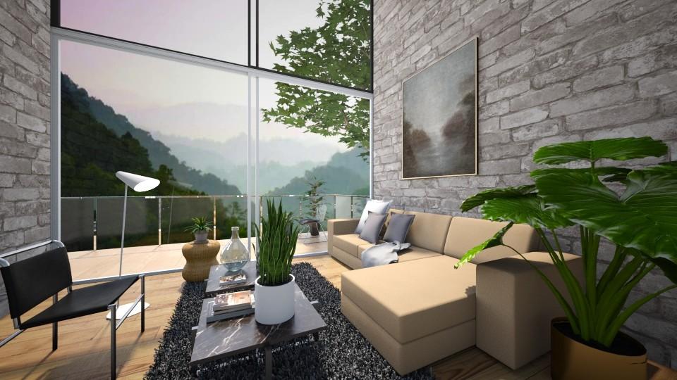 living room   - by Dayanna Vazquez Sanchez