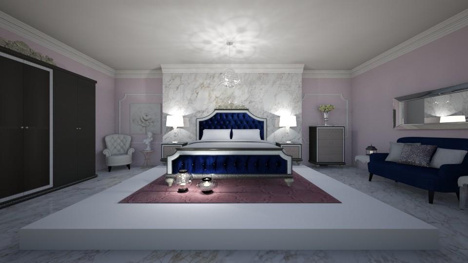 Royal bedroom - Bedroom - by erladisgudmunds