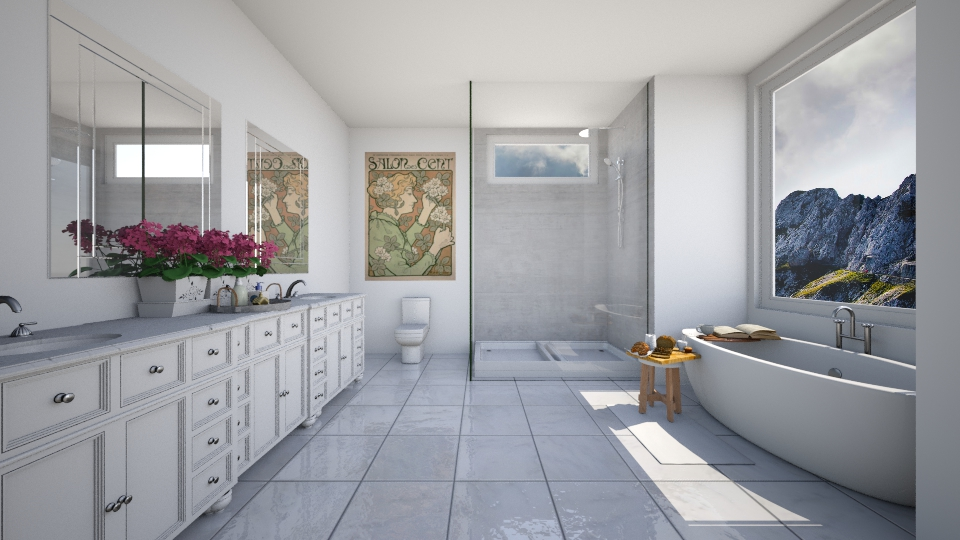 traditional bathroom - Bathroom - by Kylie Gallant