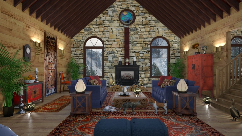 My Blue Mountain Cottage - by lydiaenderlebell