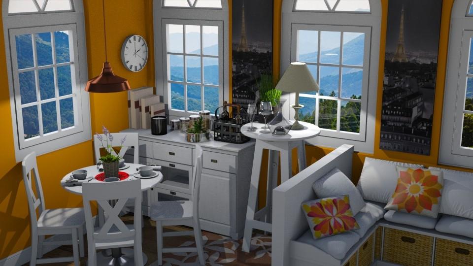 Cozy Dining Room - by savannahp0562