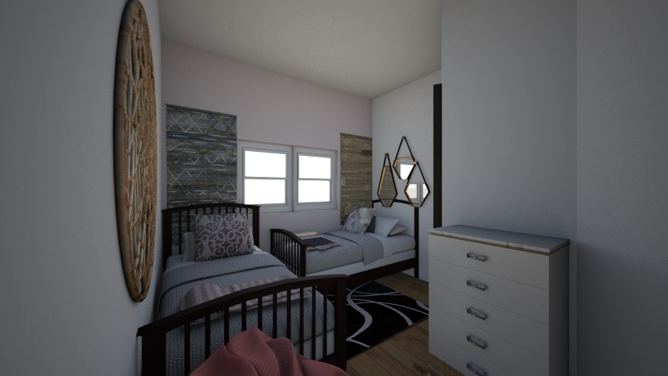 My bedroom Design - Feminine - Bedroom - by Joy Oke