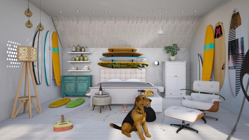 Surf Bedroom_II - by Laura_Barsa