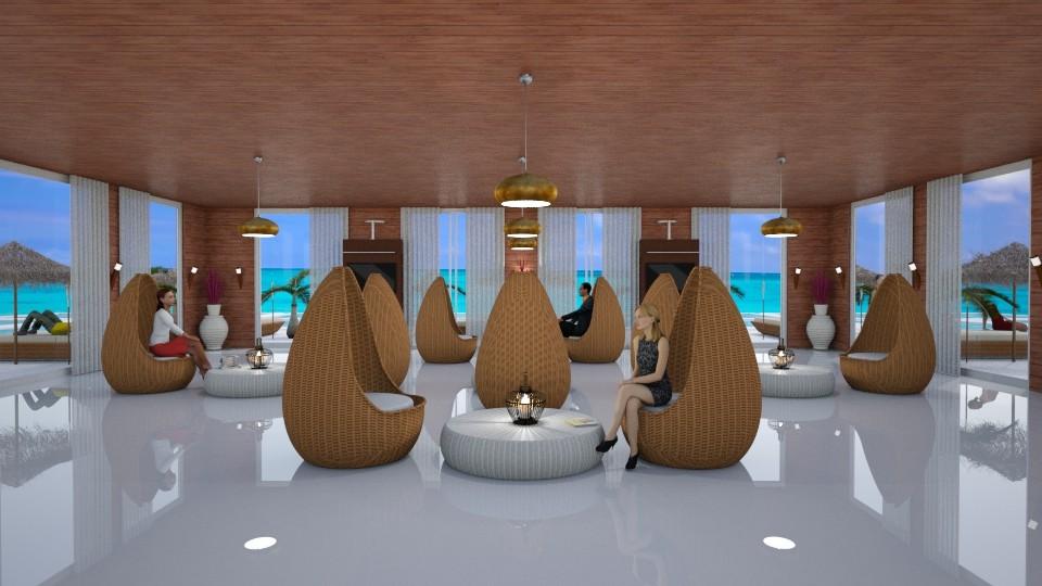 Beach Lounge - by KC Pechangco