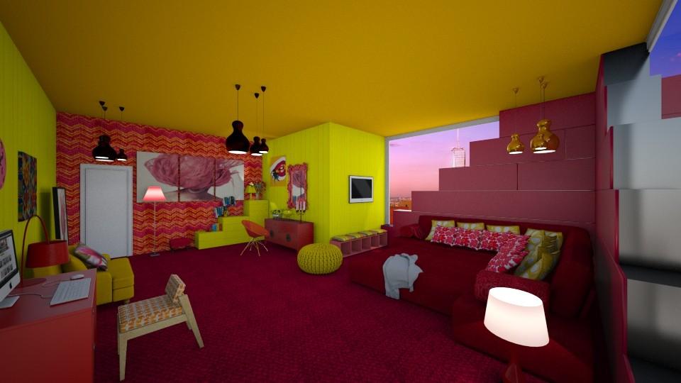 neonn - Modern - Bedroom - by mari mar