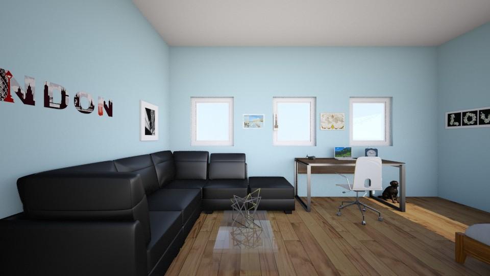 bedroom2 - Bedroom - by karatebasketball