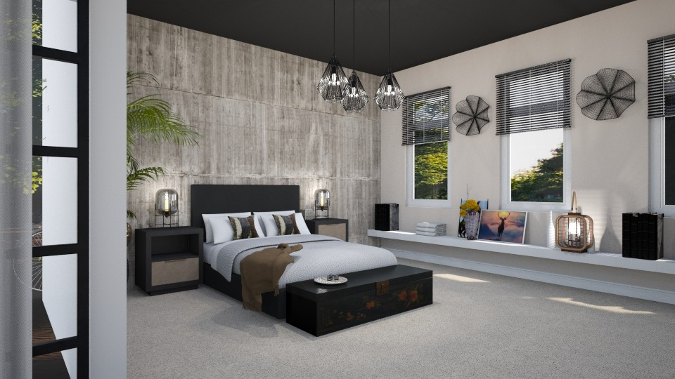 MB Bungalow After - Bedroom - by StudioGerot
