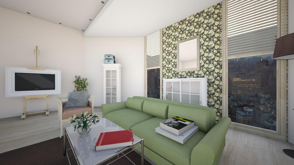 Обитель мечтателя  - Living room - by Polya_Nikols