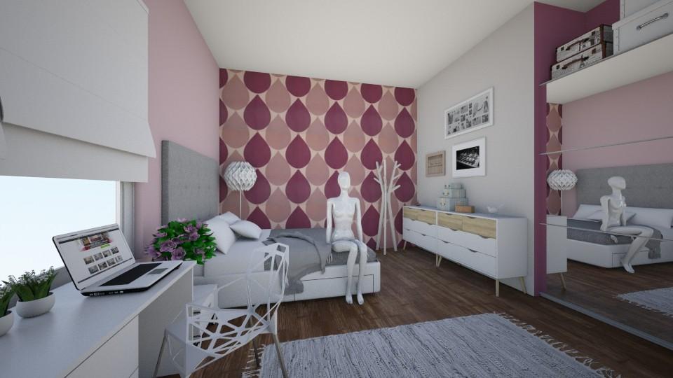 small room - Bedroom - by majlena95