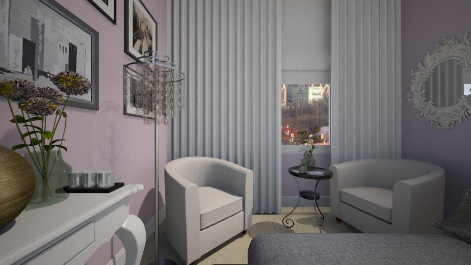 glamour bedroom - by designdecosimona