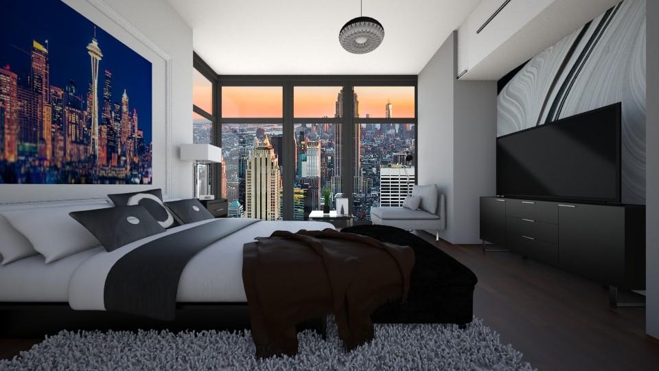 Boys Room I Bachelor  - Bedroom - by Jhiinyat