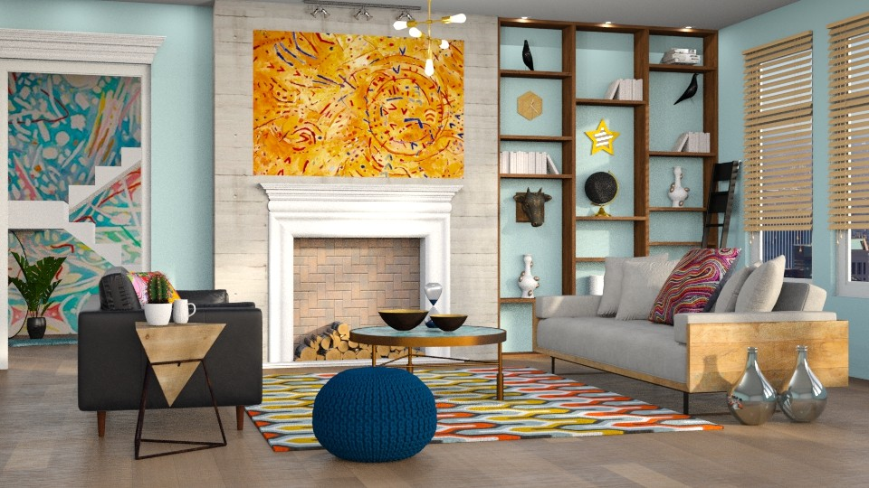 Magnetic Fields - Modern - Living room - by DeborahArmelin
