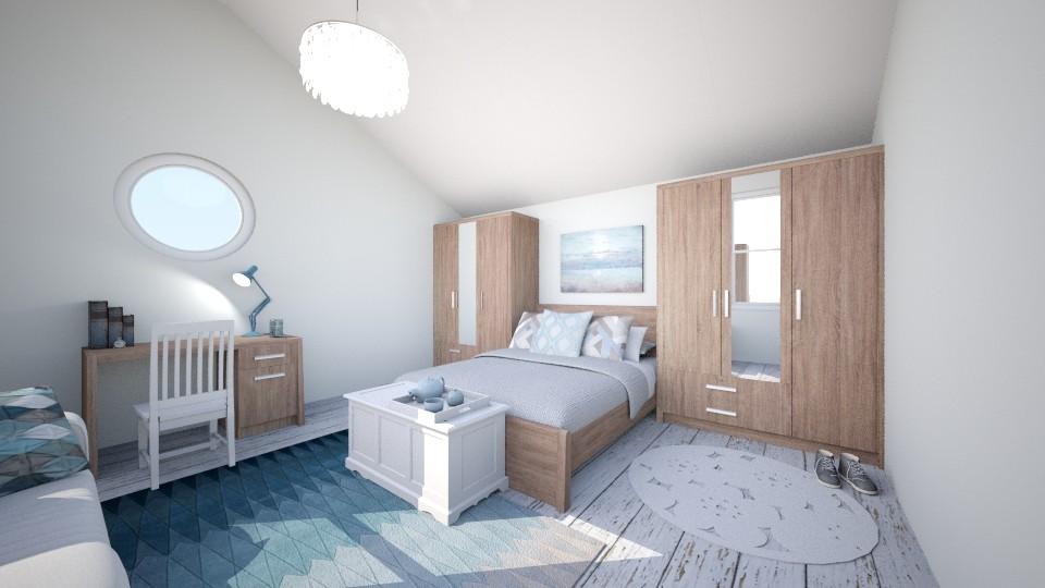 blue dream - Rustic - Bedroom - by jjannnii