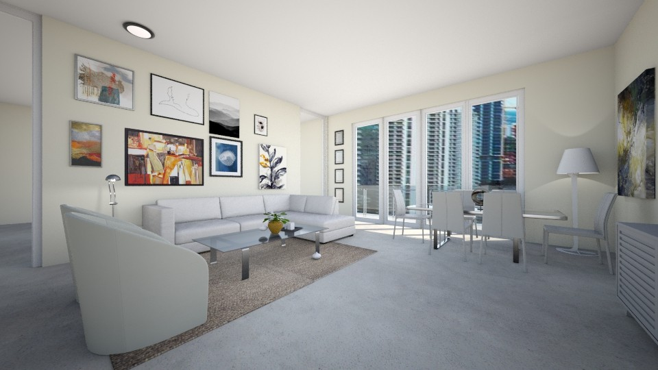 Carbonell Brickell Key 1 - Modern - Living room - by Daisy de Arias