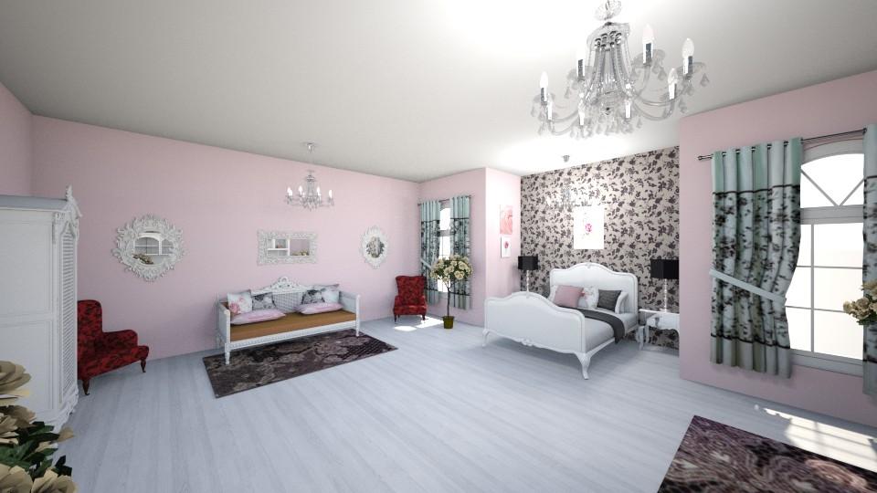 BriarRoseBedroom - Feminine - Bedroom - by MarlanaWellman