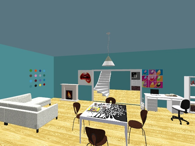 Arty house  - Modern - Living room - by Angela styles