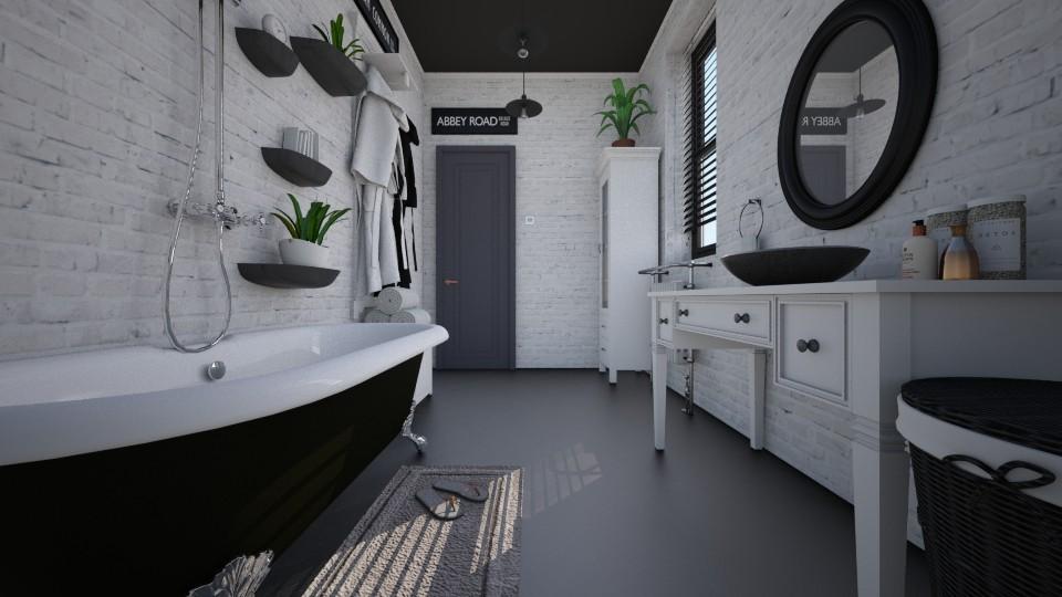 Nhouse bathroom - Bathroom - by ronron