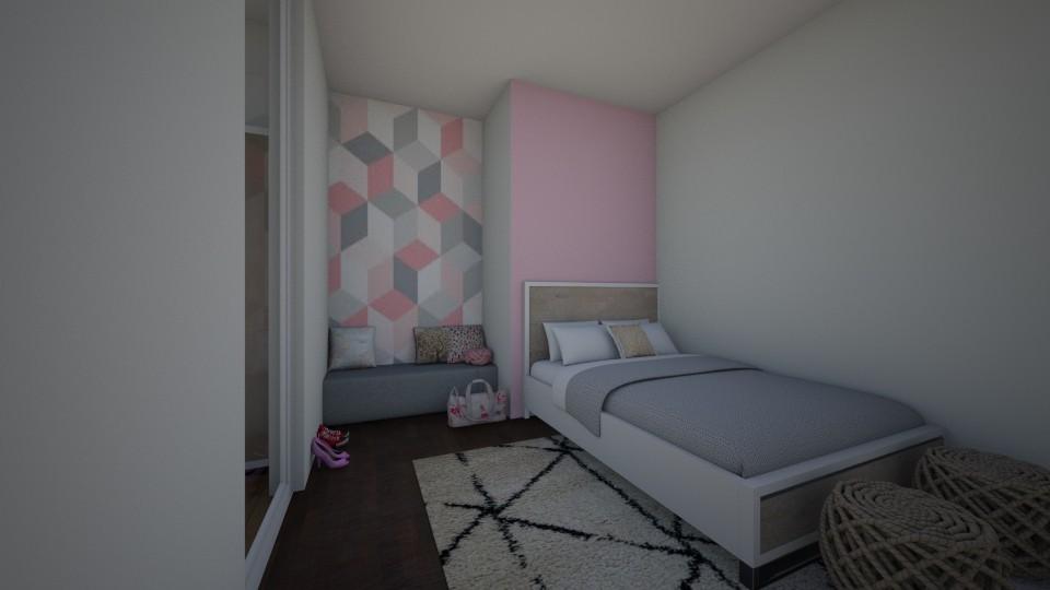 quarto de minina - by tete_architect