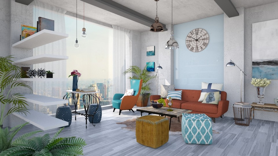 Moodboard Inspired - Living room - by Lye