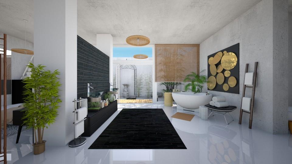 Everything Zen - Modern - Bathroom - by Candleshy