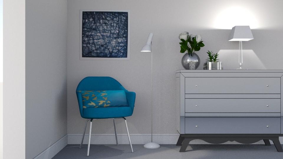 Bedroom corner - Bedroom - by snezzza