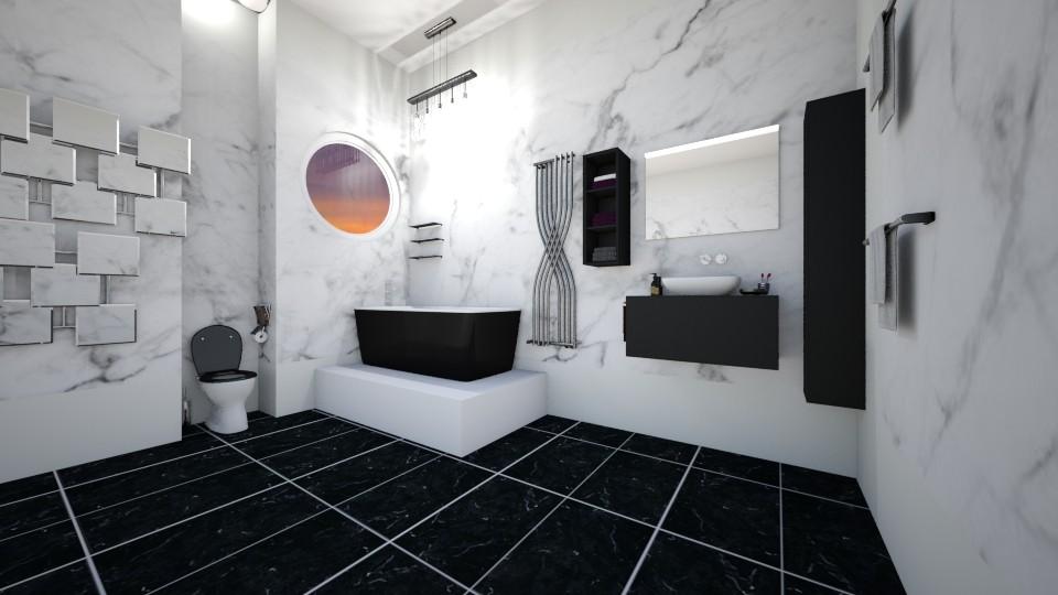 bathroom apartment - Bathroom - by dimanna8