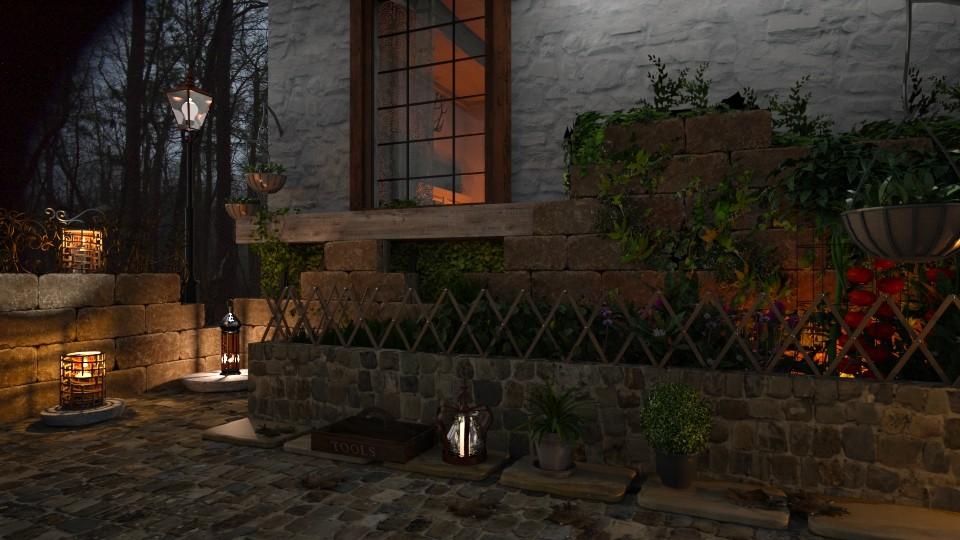 Garden - Vintage - Garden - by evahassing