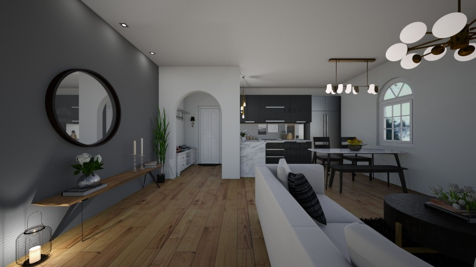 small apartment  - Living room - by erladisgudmunds