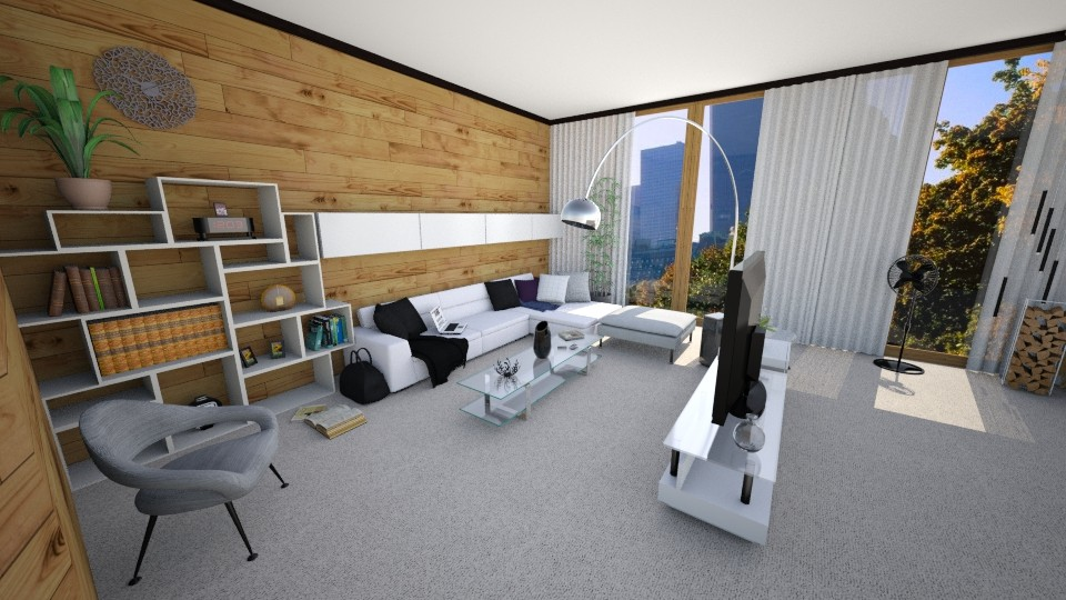 Design 3 Apartment - Modern - Living room - by ExpressYourself