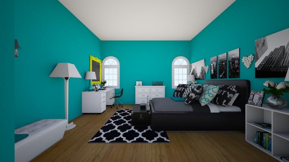 TEEN NYC STAGE - Feminine - Bedroom - by theobrien5