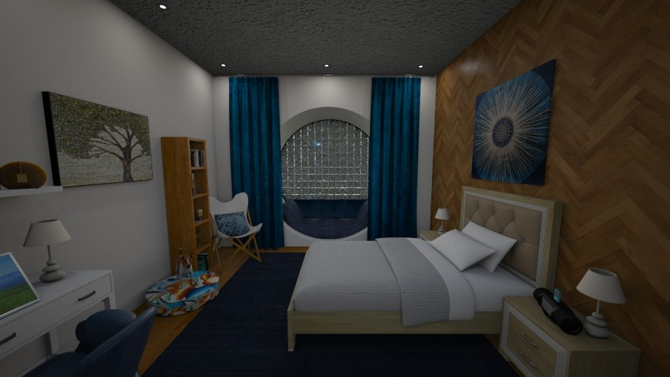 New - Bedroom - by June Thomas