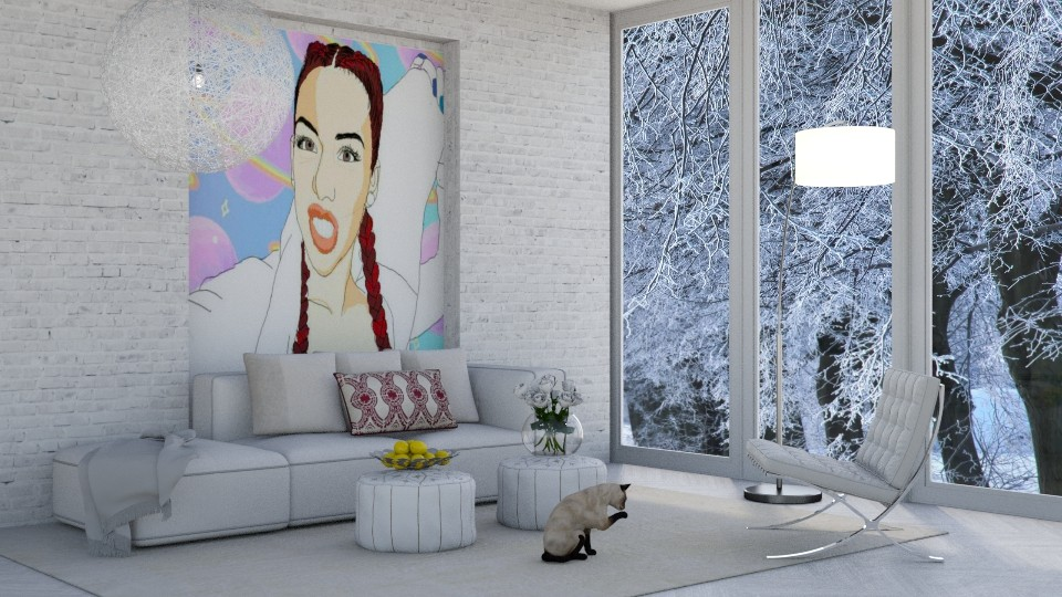 Winter with Salice - Modern - Living room - by bgref