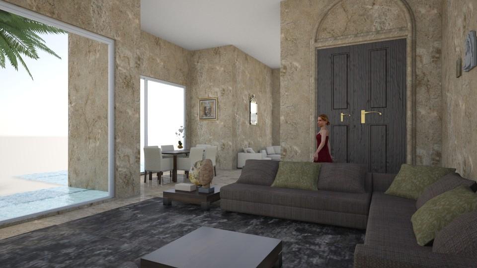 elefant - Feminine - Living room - by sephara