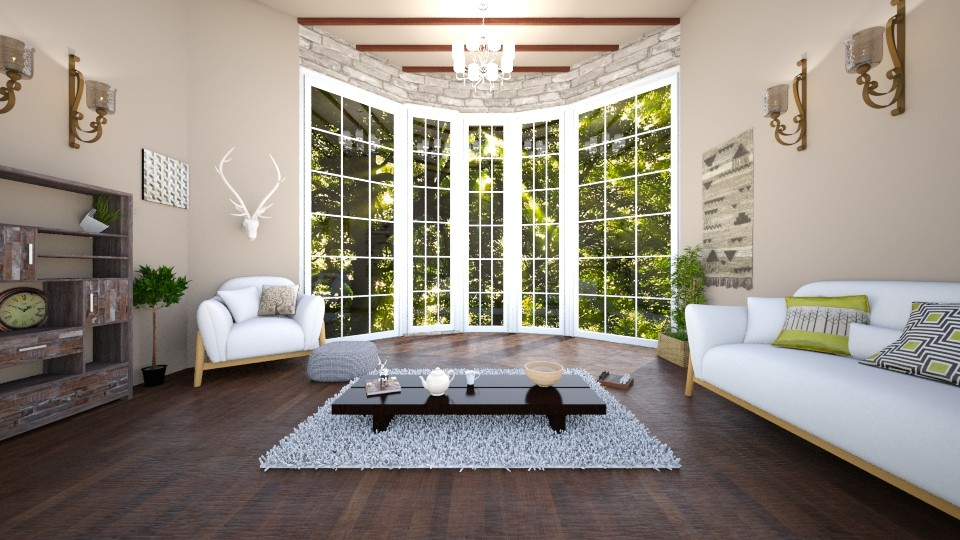 Forest Home Living Room - Living room - by mjjjj_01