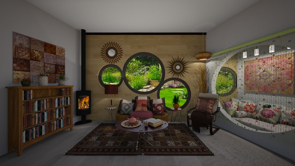 Round Windows - by Kelly Carter