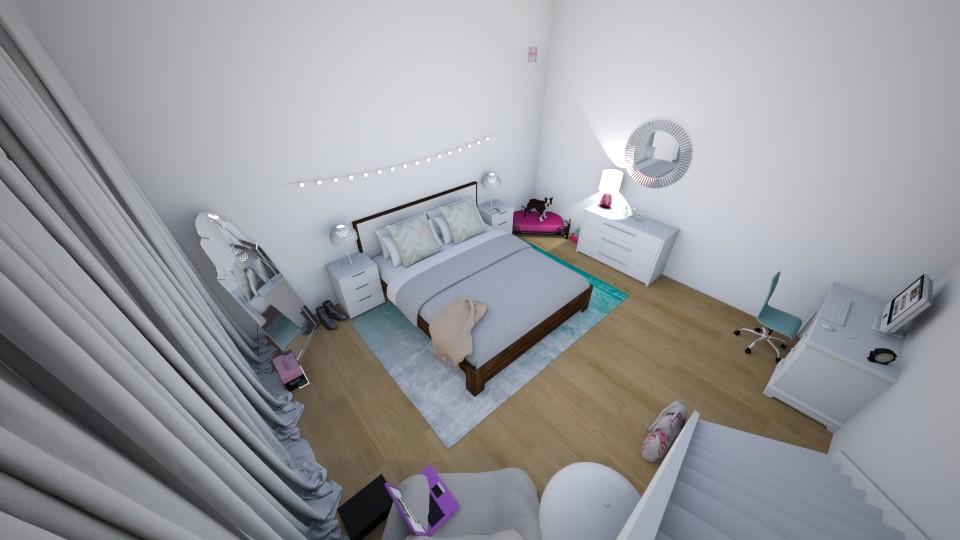 Basement Bedroom - Bedroom - by Zy121405