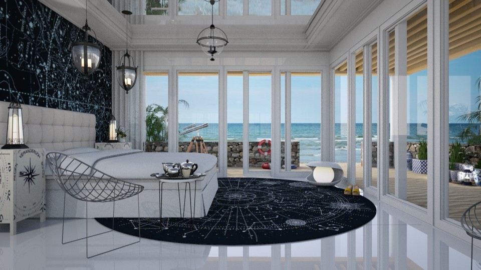 nautical - Modern - Bedroom - by Ida Dzanovic