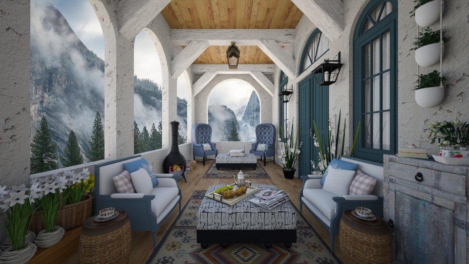 Alpine Retreat - by lydiaenderlebell