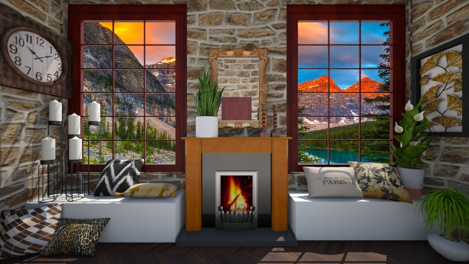 Windows on Banff - by VeroDale
