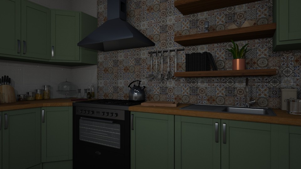 home kitchen - by nazlazzhra