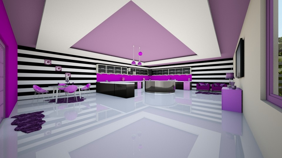 Neon - Kitchen - by creato