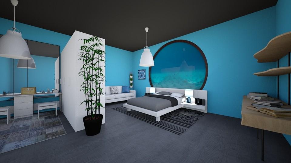 under ocean - Modern - Bedroom - by secret_girl91